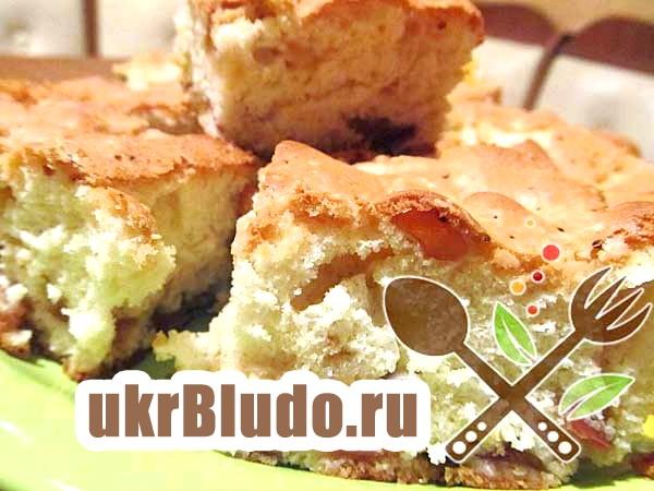 Фото - яблучний пиріг рецепт