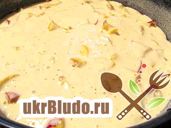 Фото - як приготувати пиріг яблучний