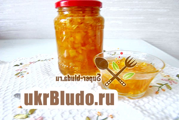 Фото - варення з кабачків рецепт