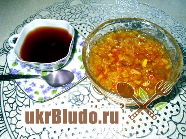 Фото - рецепти кабачкової варення