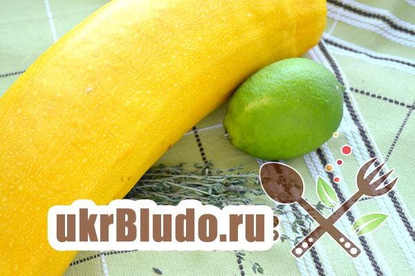 Фото - рецепт кабачкової варення