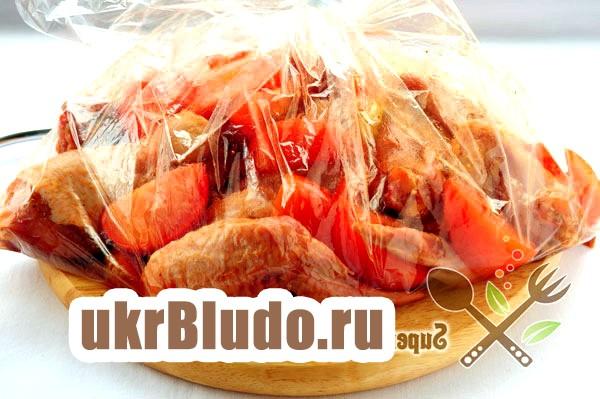 Фото - курка в рукаві запечена в духовці / курка в духовці соєвий соус