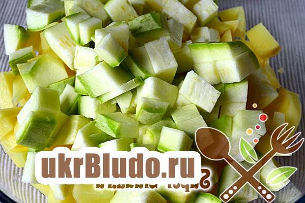 Фото - як приготувати овочі запечені в рукаві