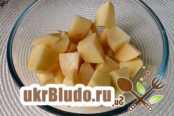 Фото - картопля в рукаві для запікання