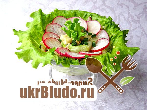 Фото - весняний салат рецепт