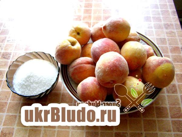 Фото - компот з персиків на зиму