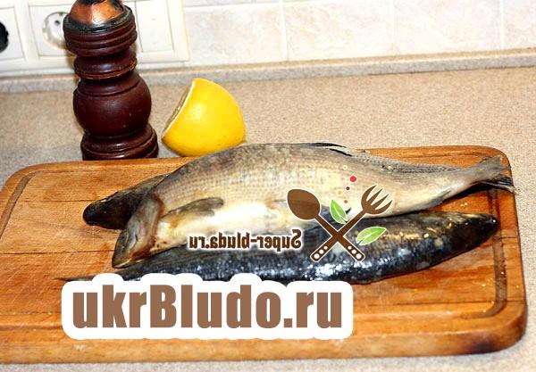 Фото - запікання риби в рукаві