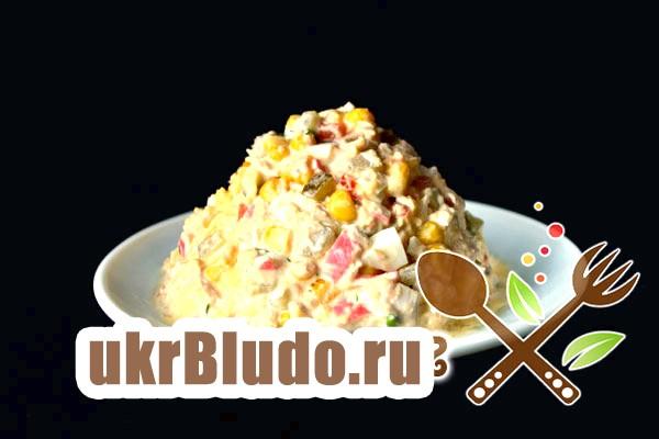 Фото - салат шапка дід морозу