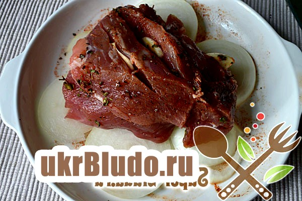 Фото - свинина запечена в рукаві рецепт
