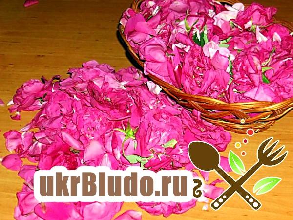Фото - як варити варення з троянди